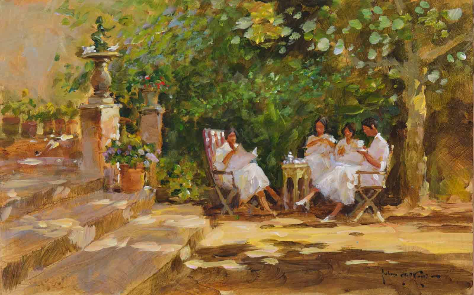 Garden Lunch, Seville