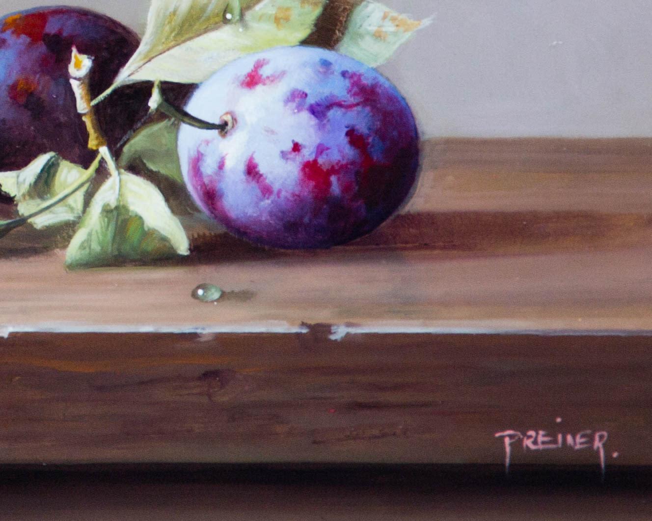 Purple Pershore Plums
