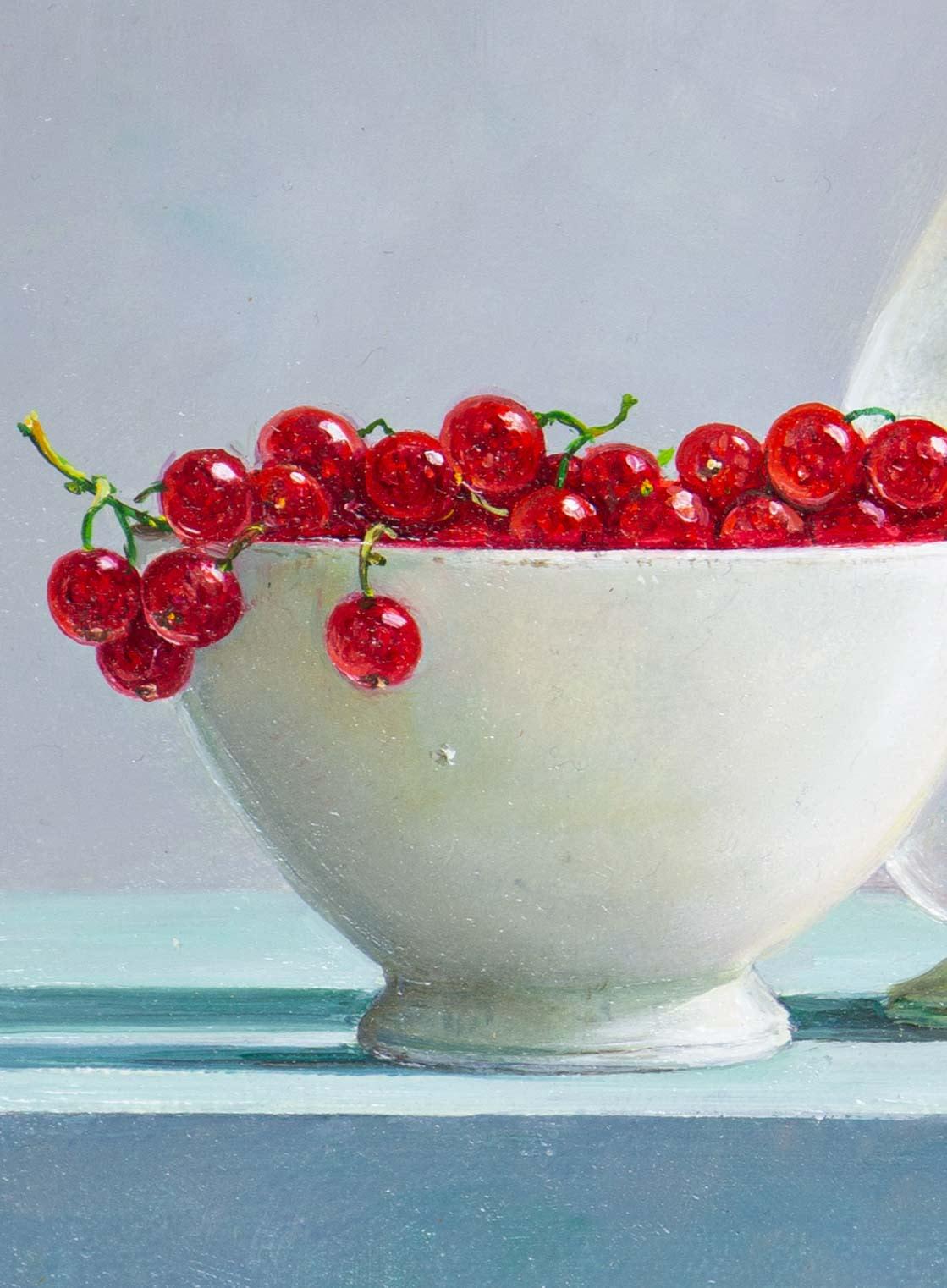 Redcurrants With Vase