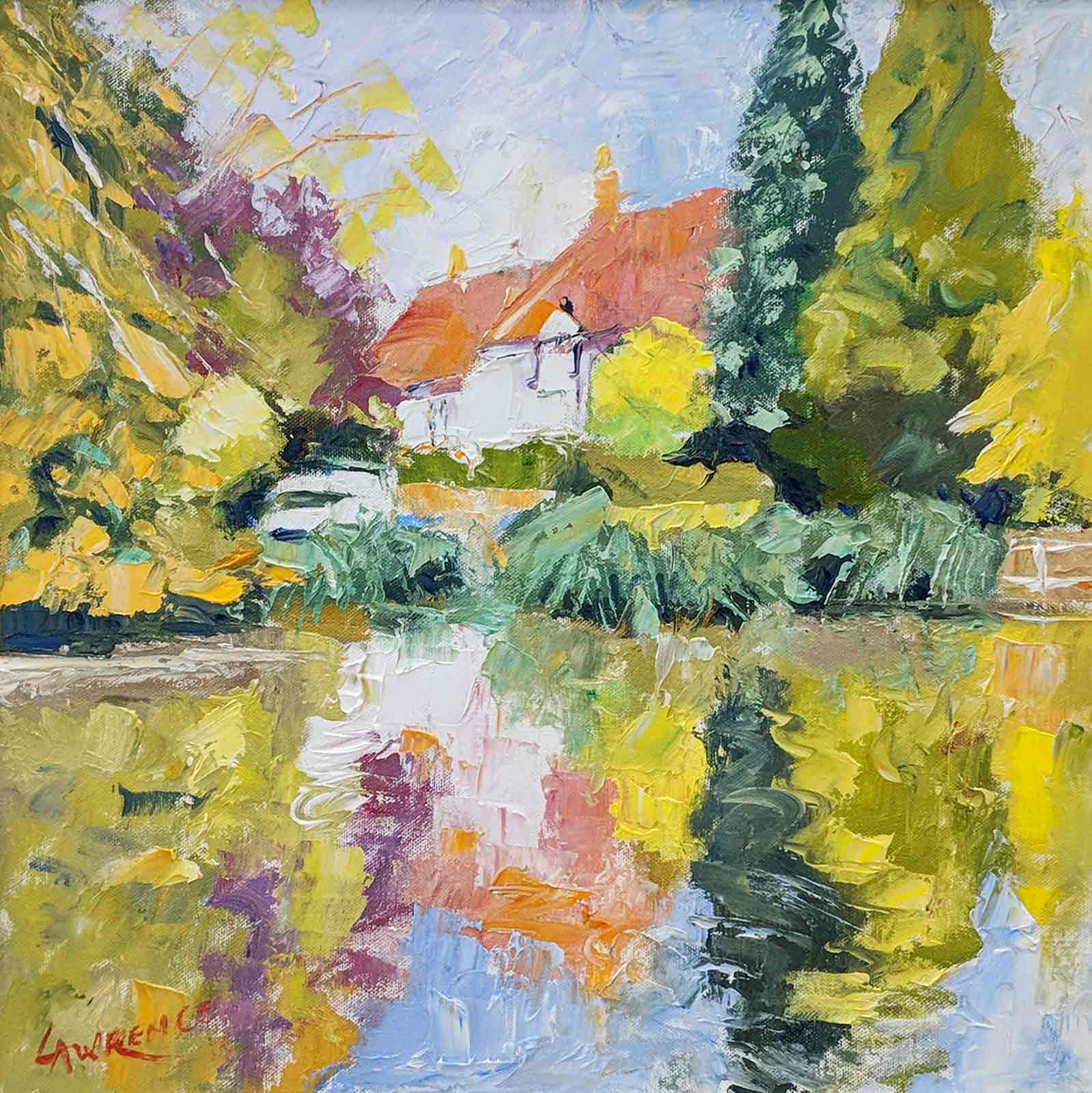 Buriton Pond Bathed In Sunlight