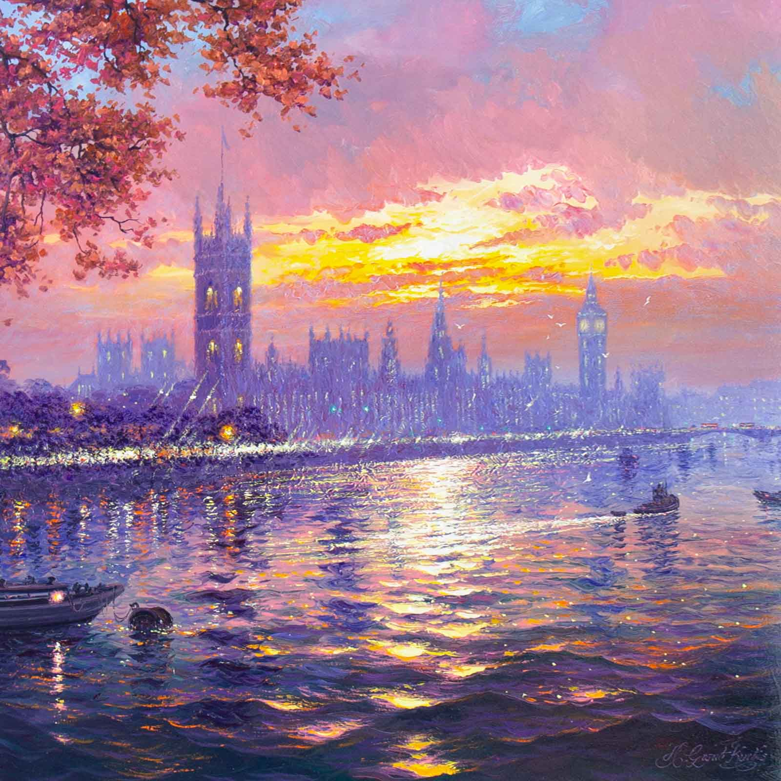 Autumnal Morning, Westminster