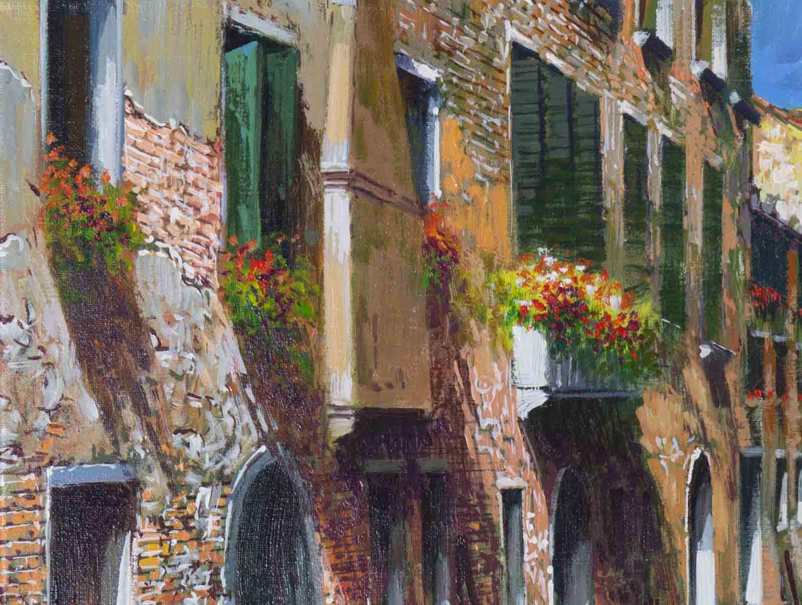 Ripples in Venice