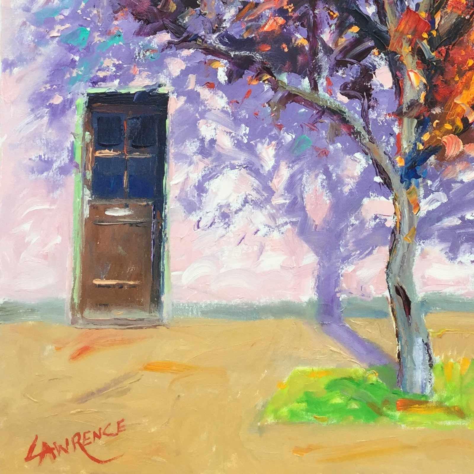 Sunlit Beech Tree