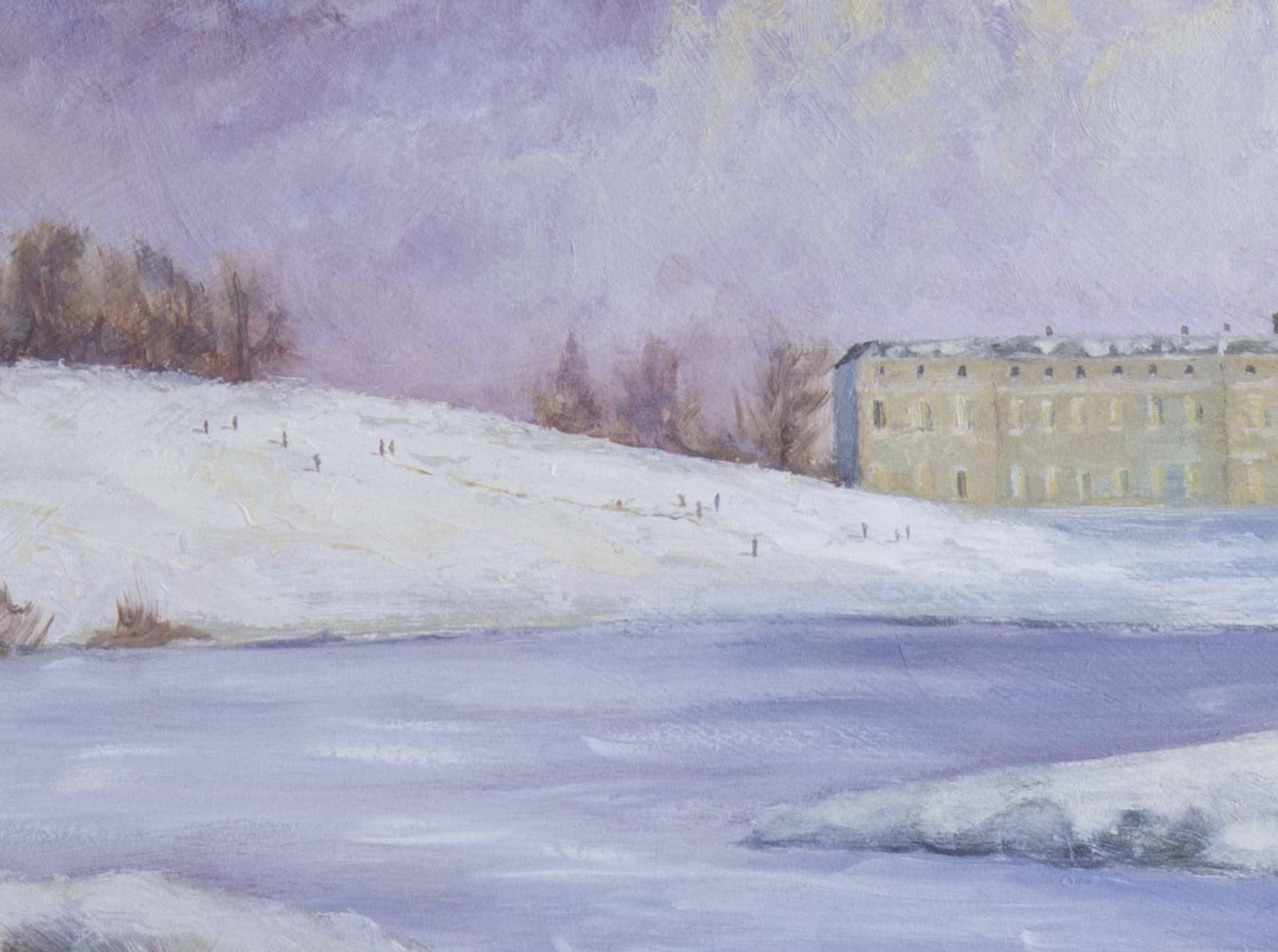 Snow in Petworth Park