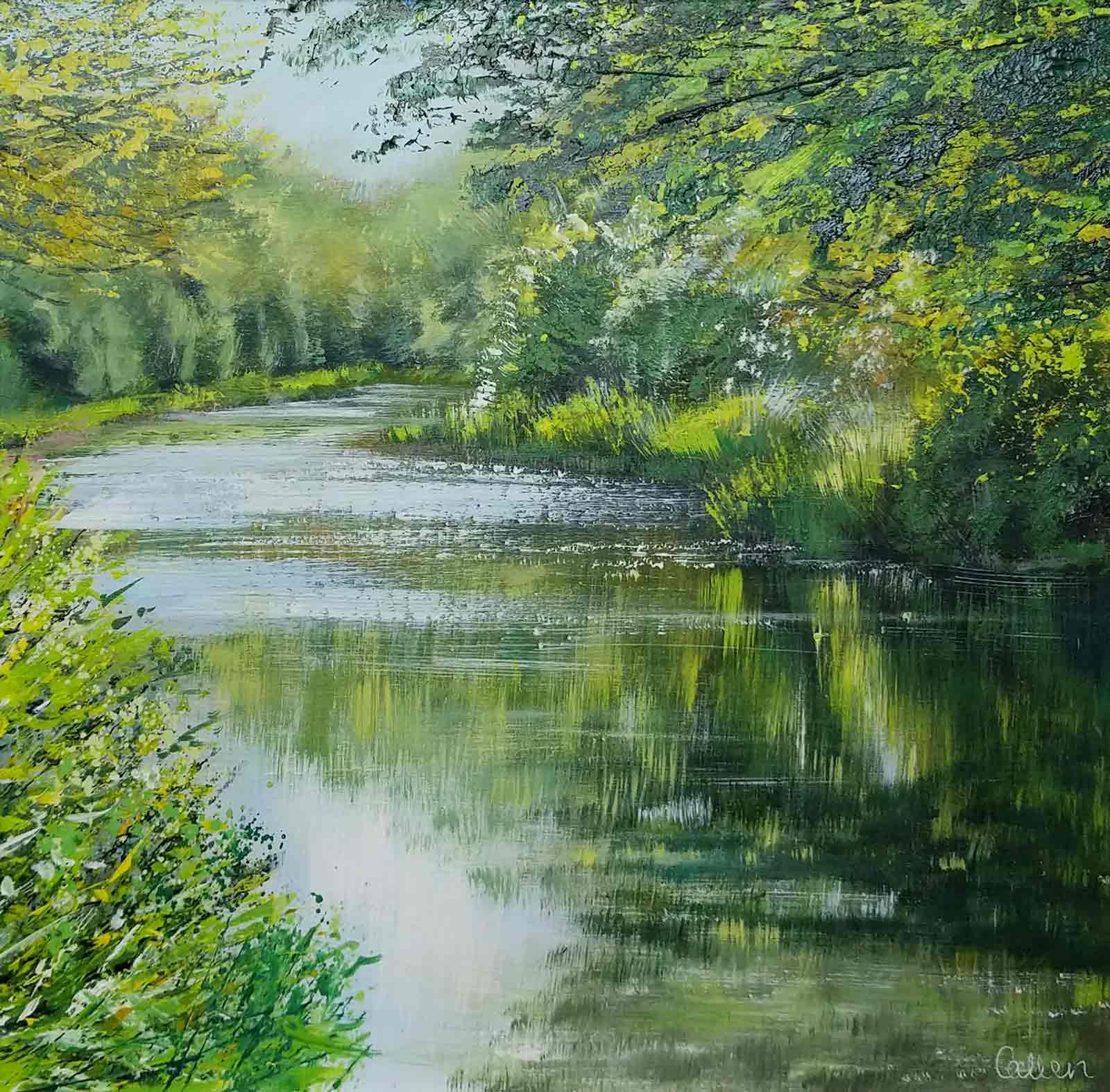 Dancing Light, River Wey