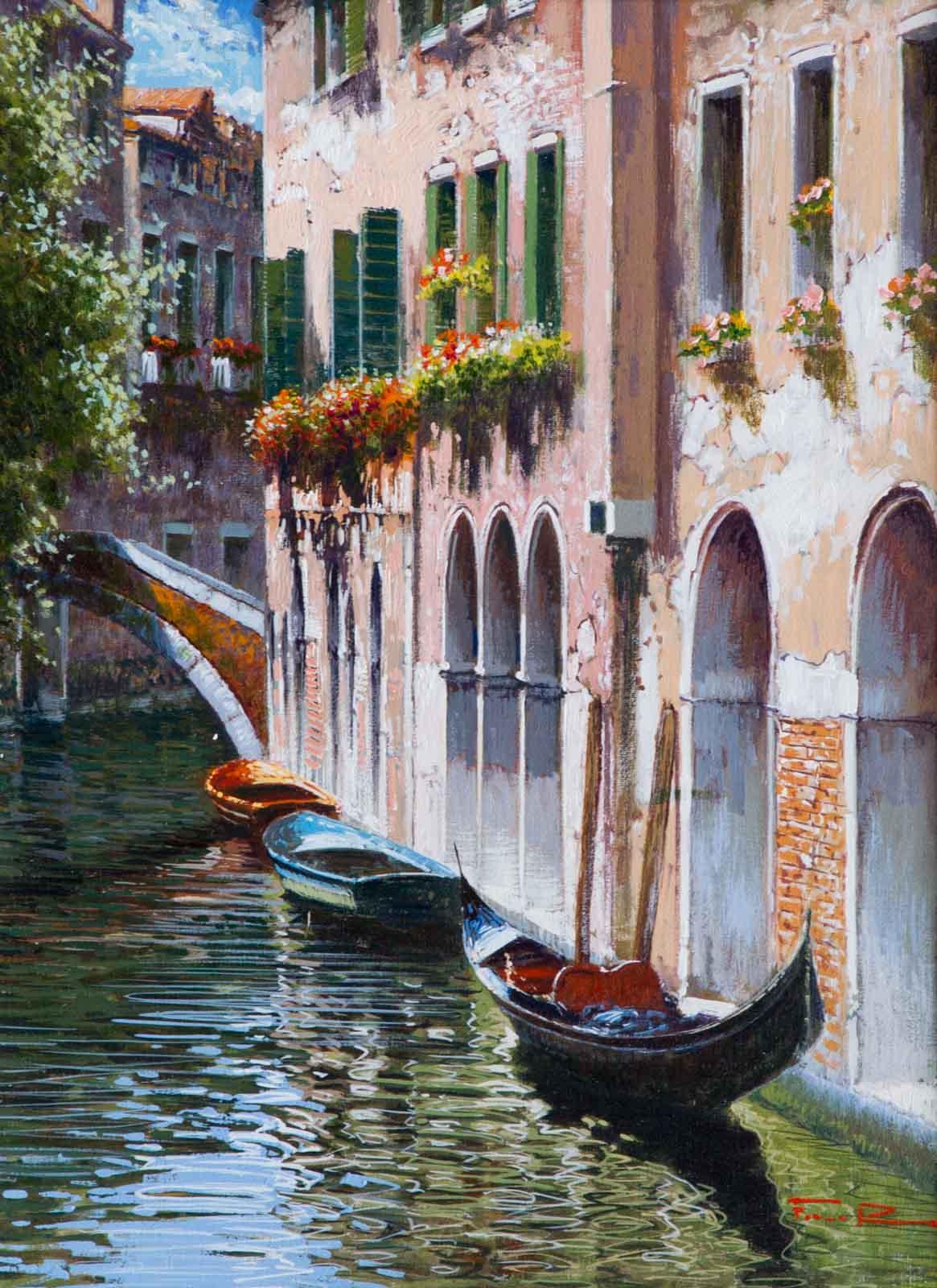 Gondolas, Venice I