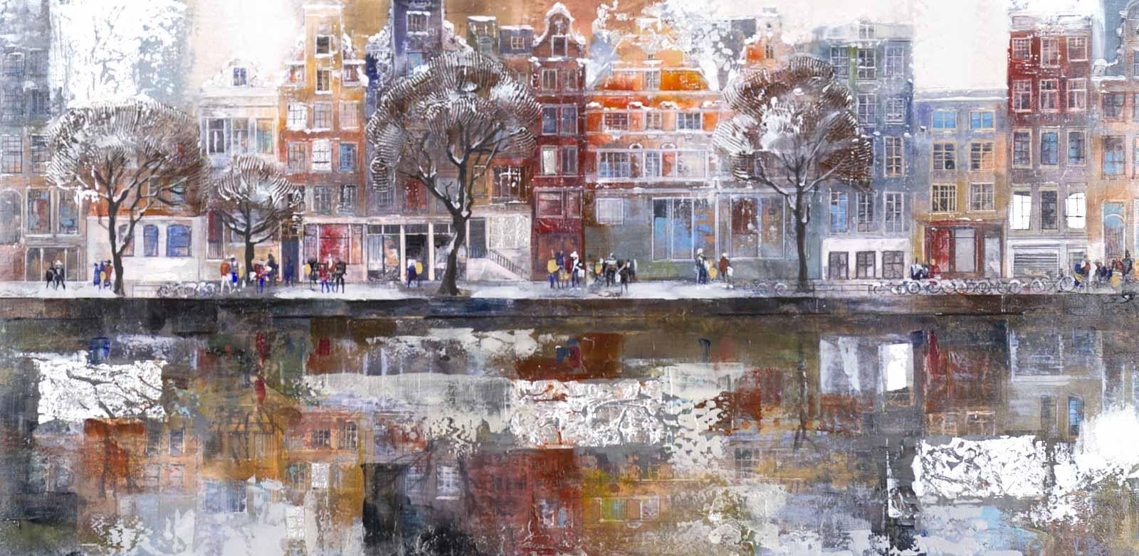 Winter Reflections, Amsterdam