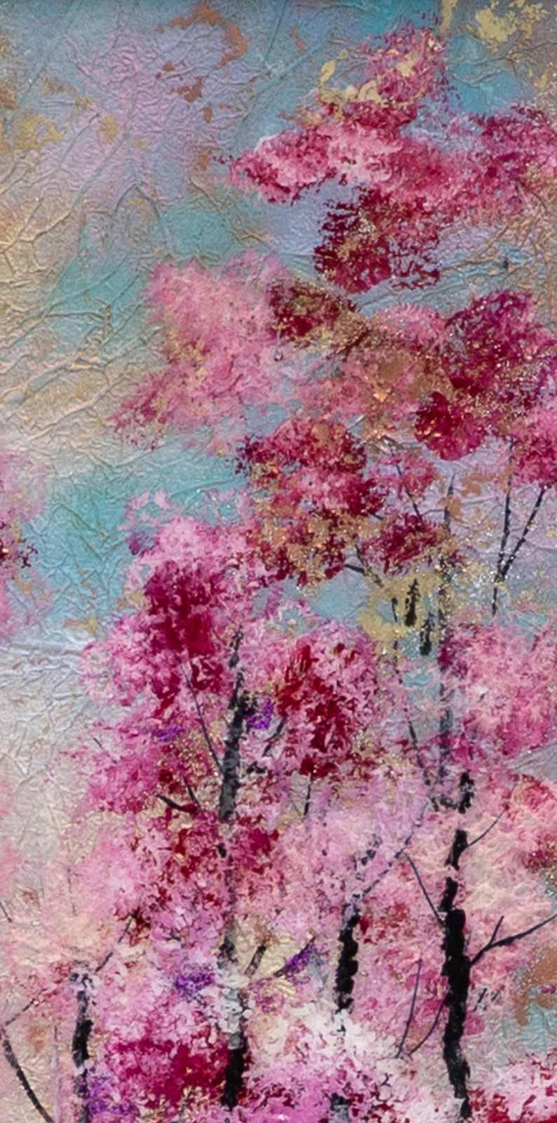 Through the Cherry Blossom