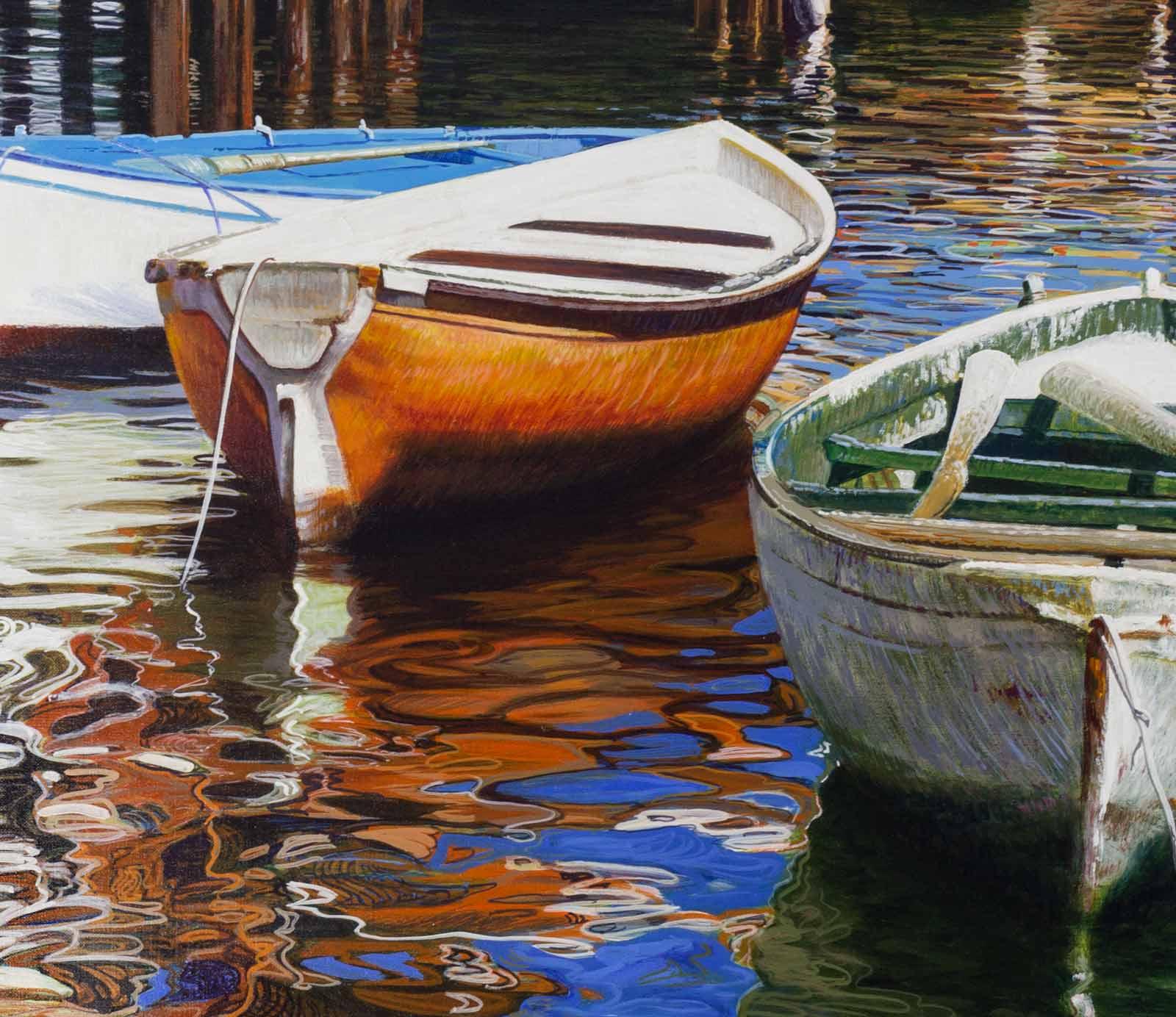 Moored Boats, Italy