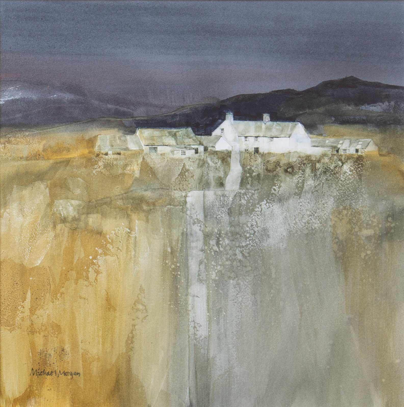 Study For Moorland Farmhouse