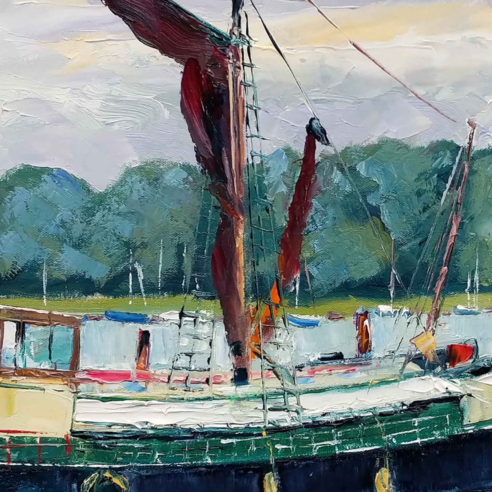 Sailing Barge, Suffolk