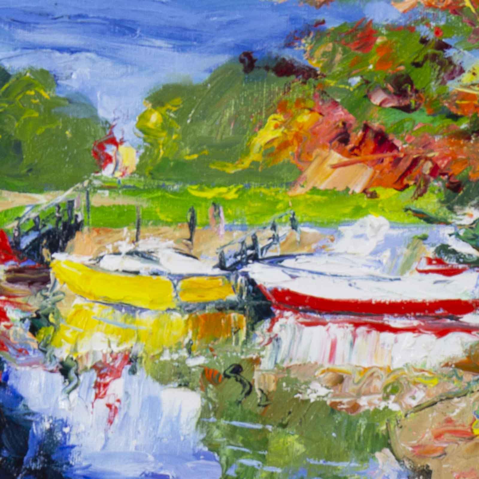 Yellow Boat, The Arun