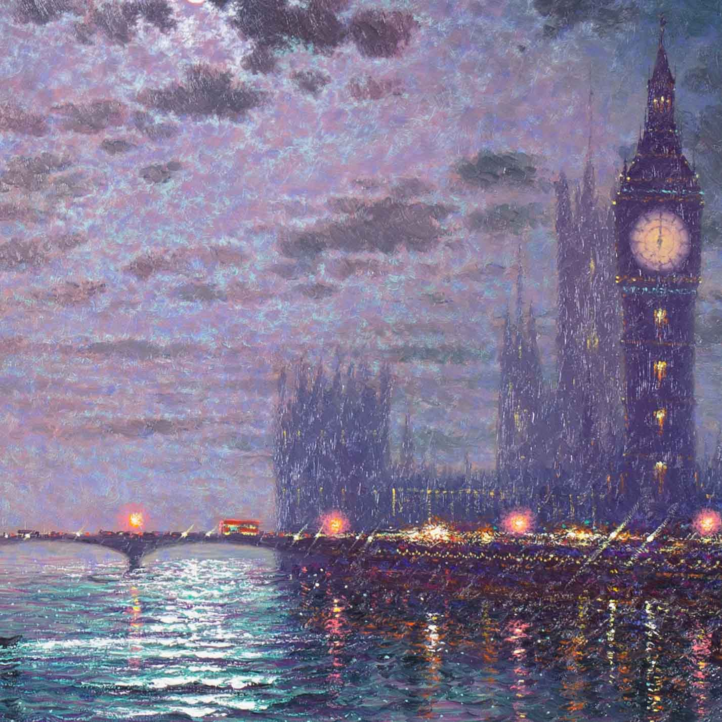 Westminster Chimes at Midnight