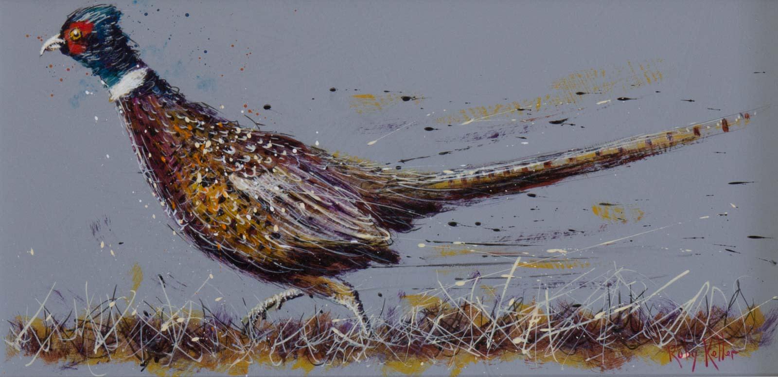 Running Pheasant