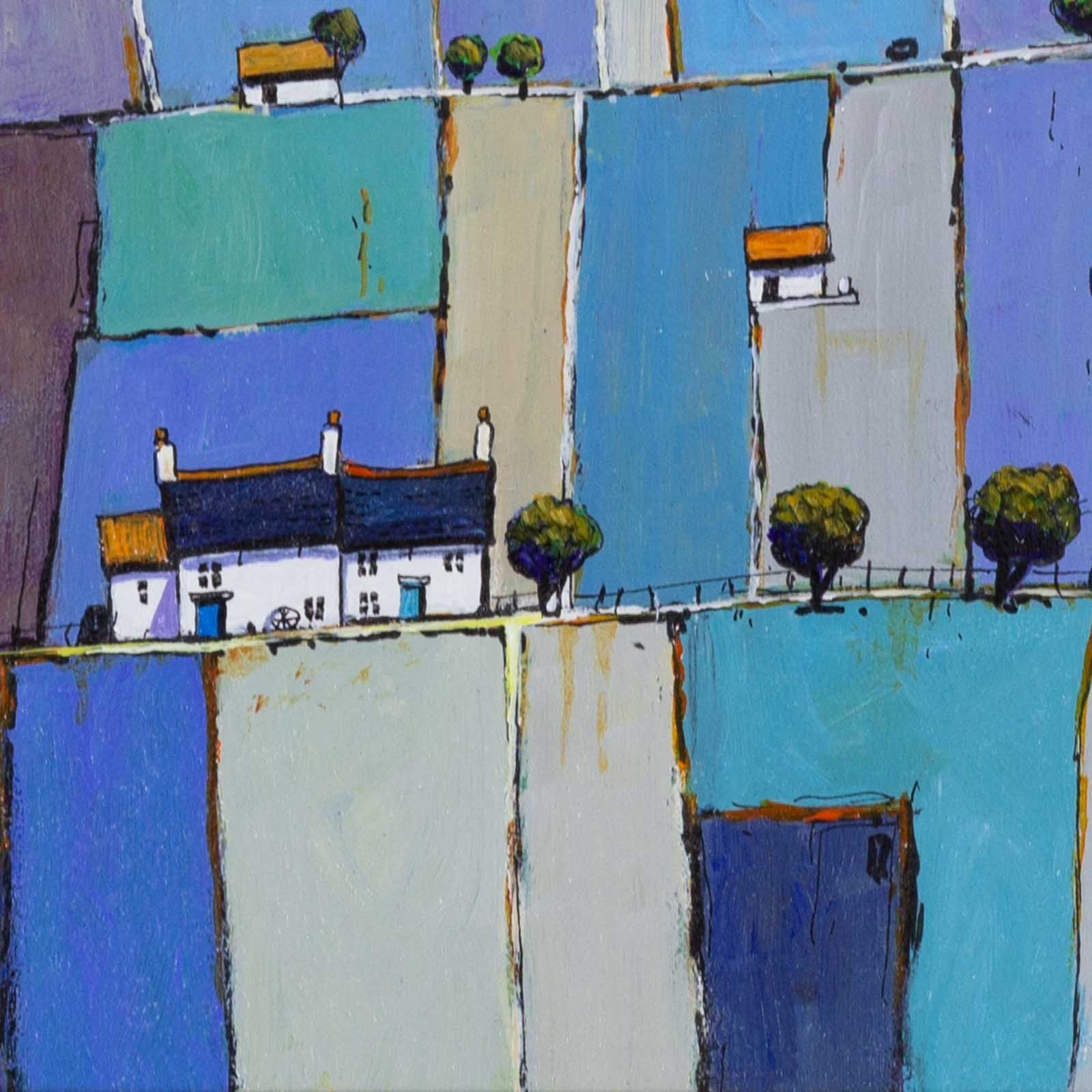 Patchwork of Blue