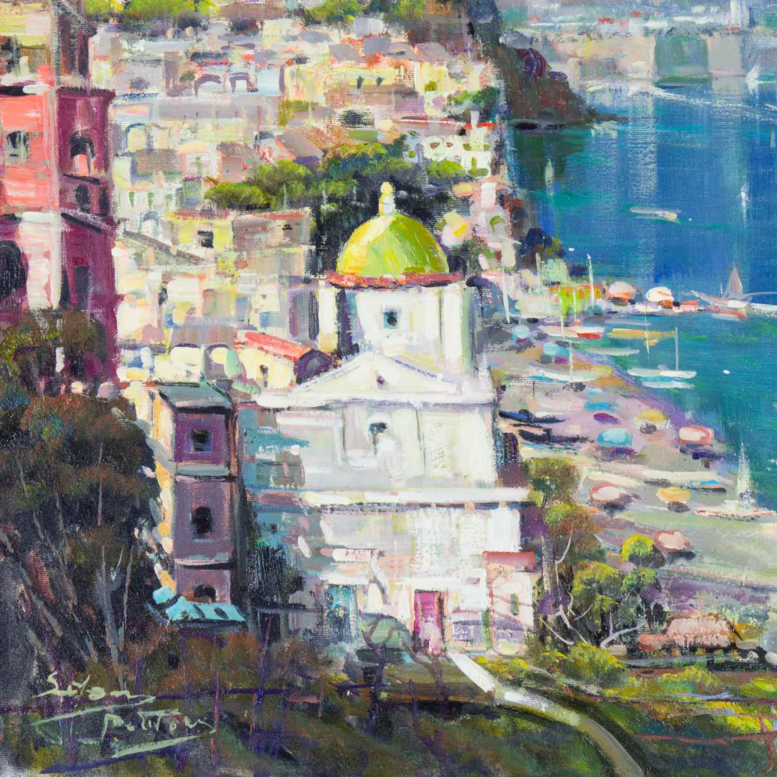 Positano By Day
