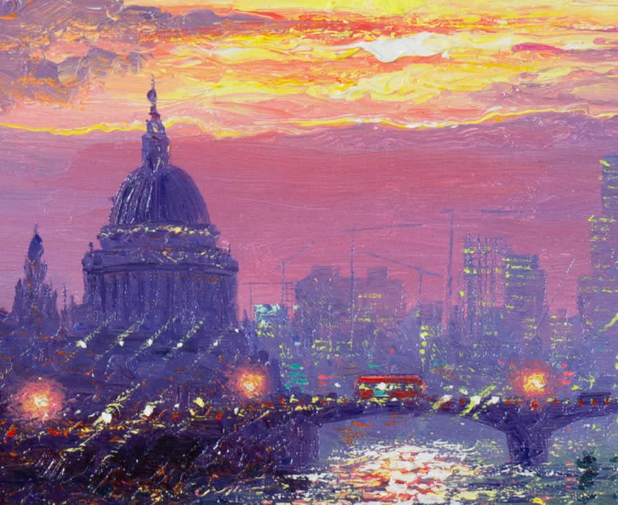 St Pauls Sunrise