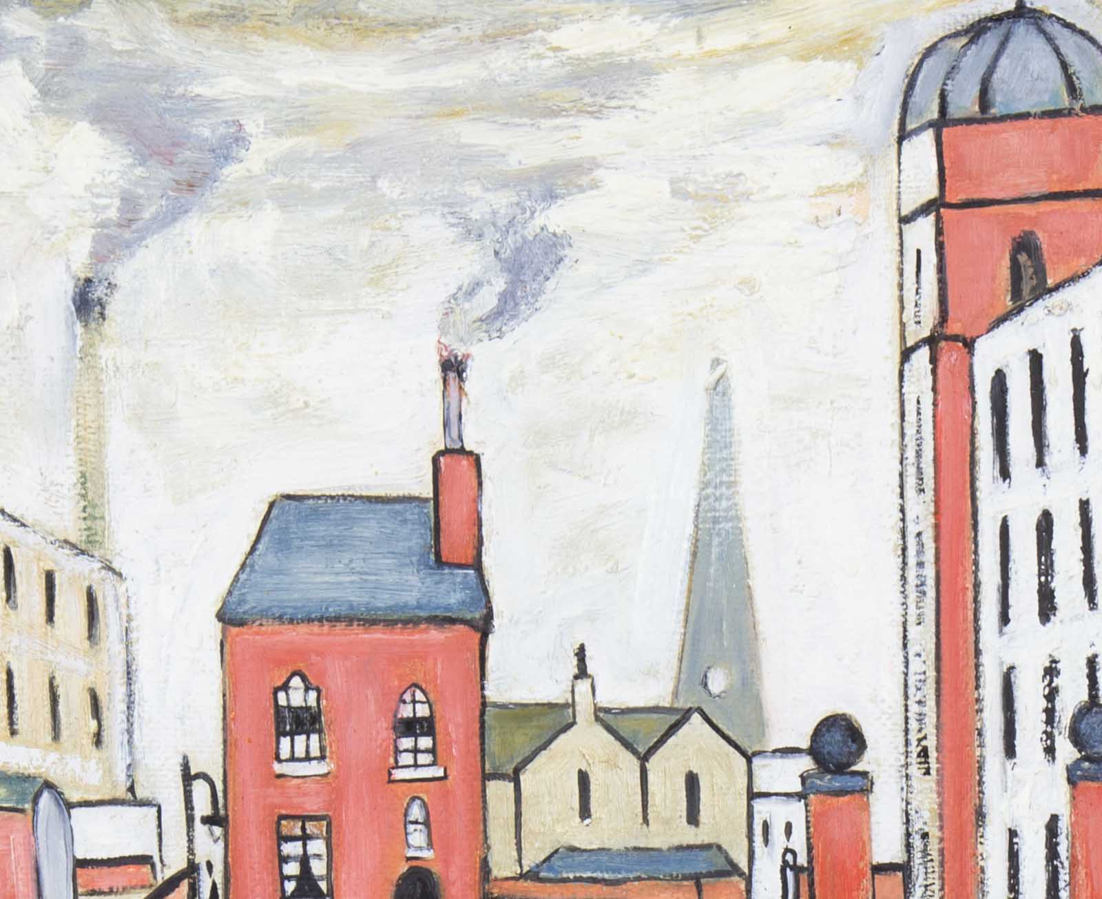 The Rush Hour after L.S.Lowry