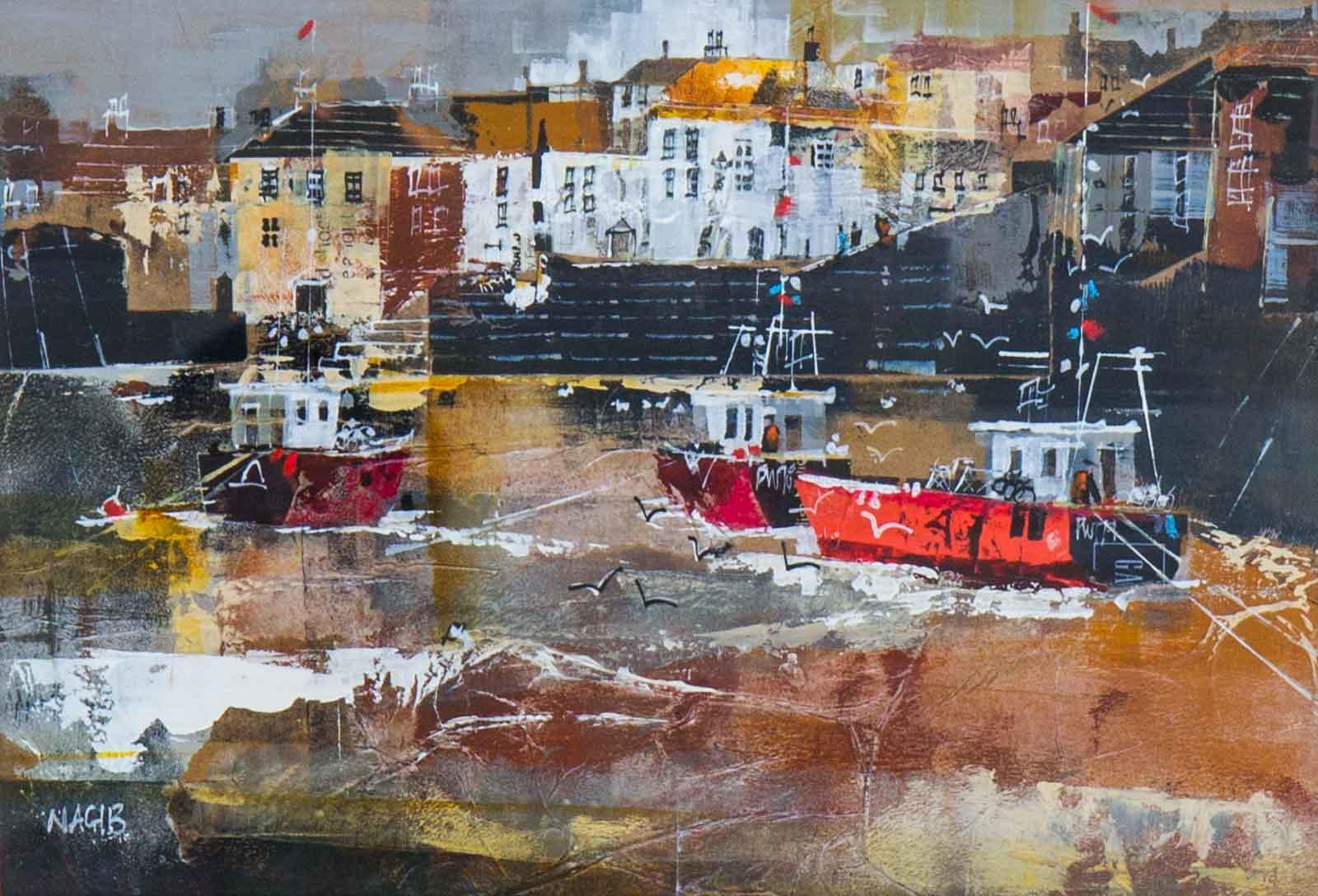 Fishing Boats, Polperro