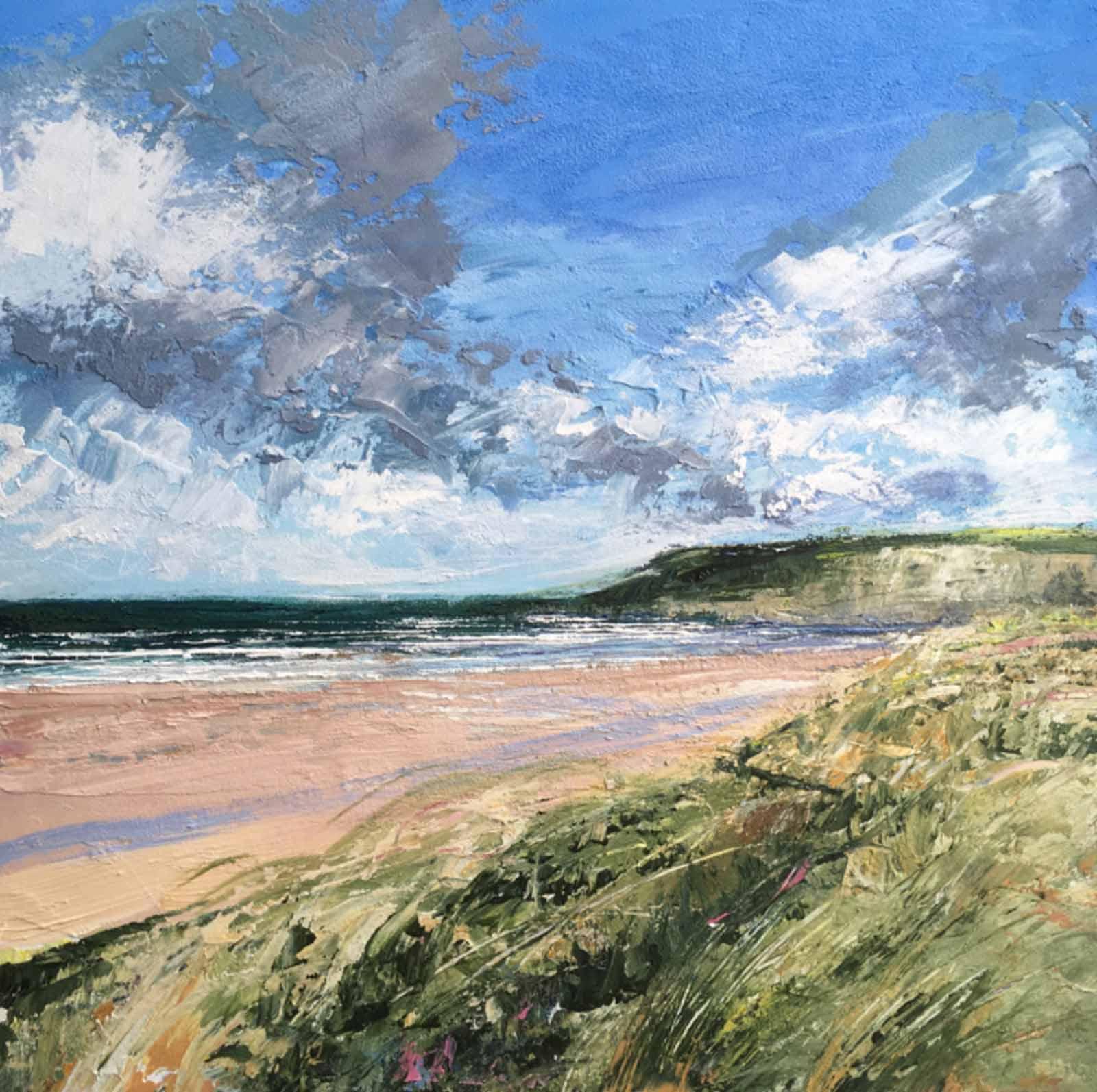 Light Breeze, Holywell Bay