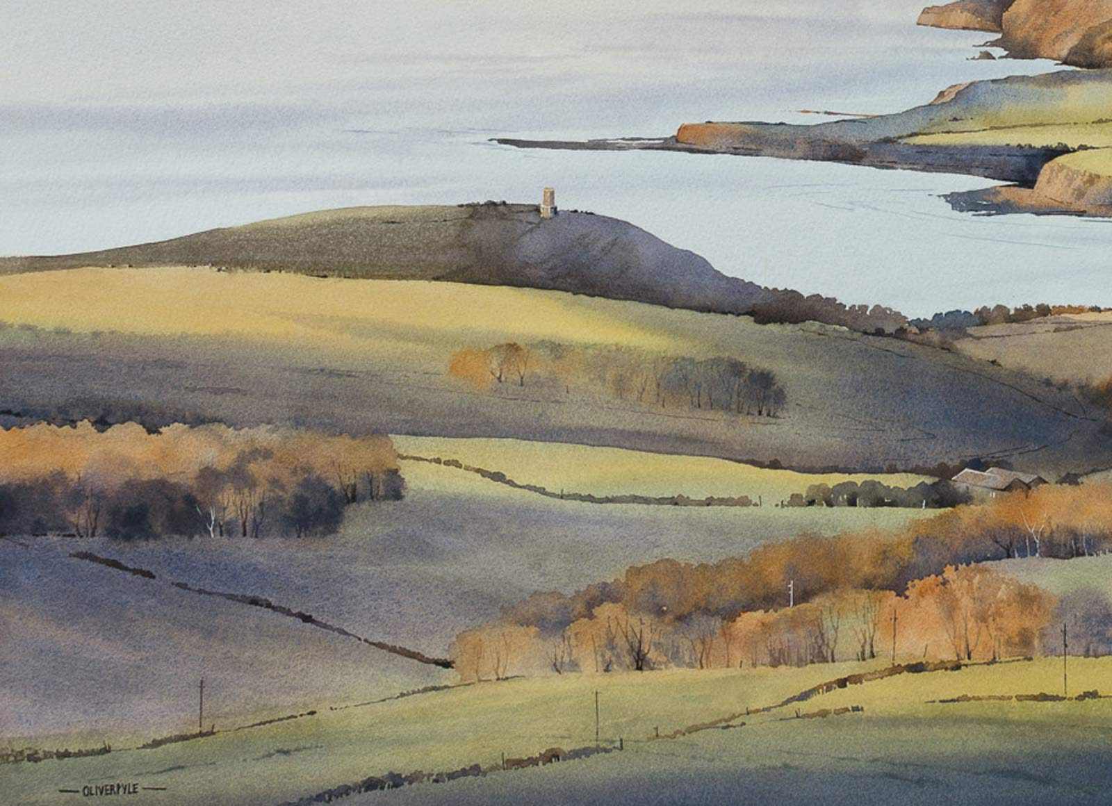 November Light, Kimmeridge Bay