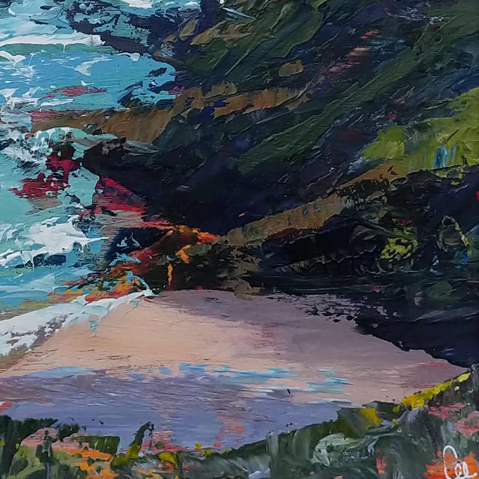 Sunlit Cove, Fowey