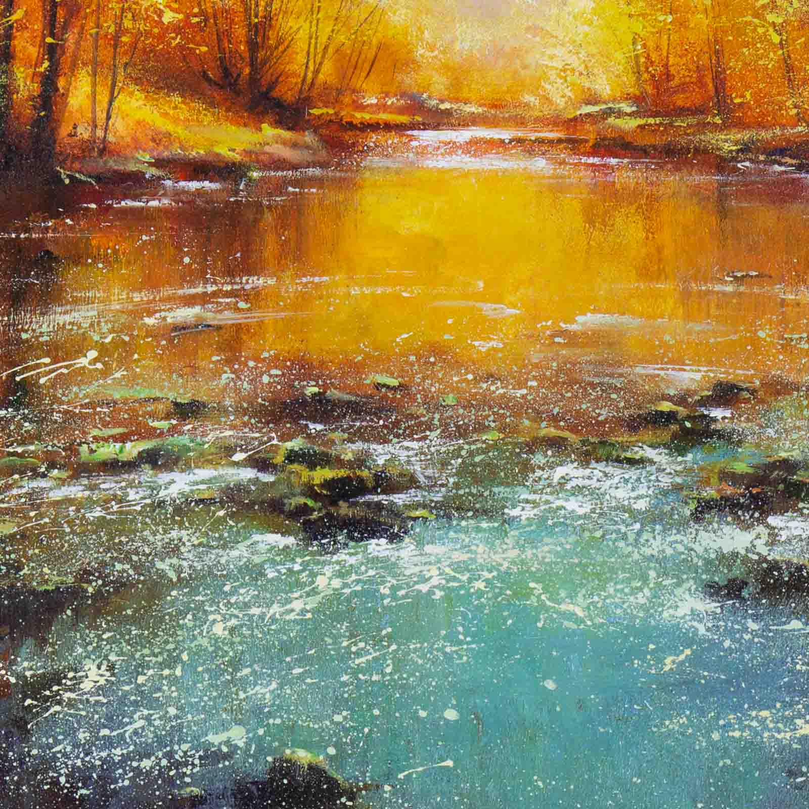 Autumn By The Stream