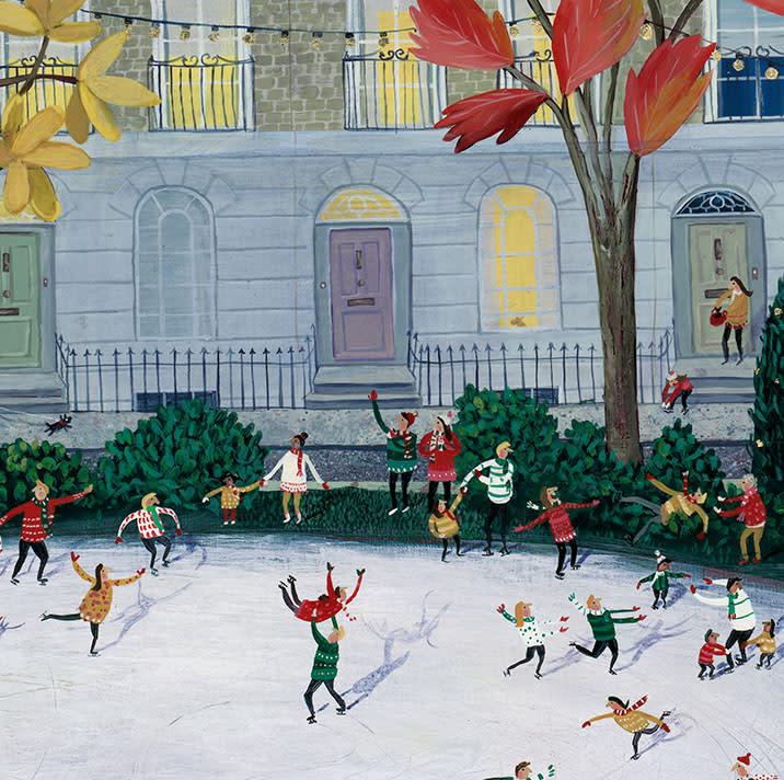 Skating In The Square