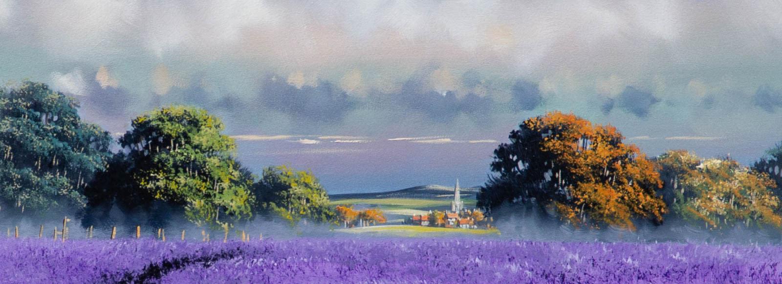 A Walk Through the Lavender