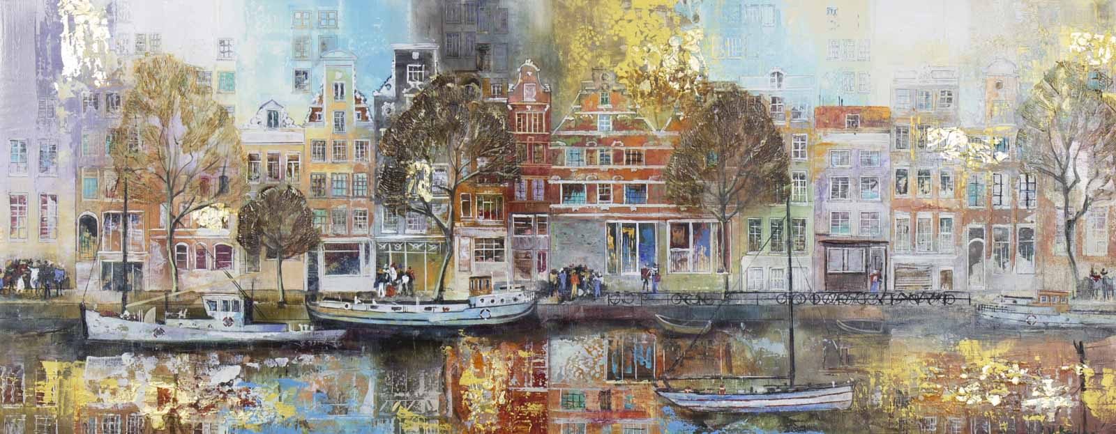 Colourful Amsterdam