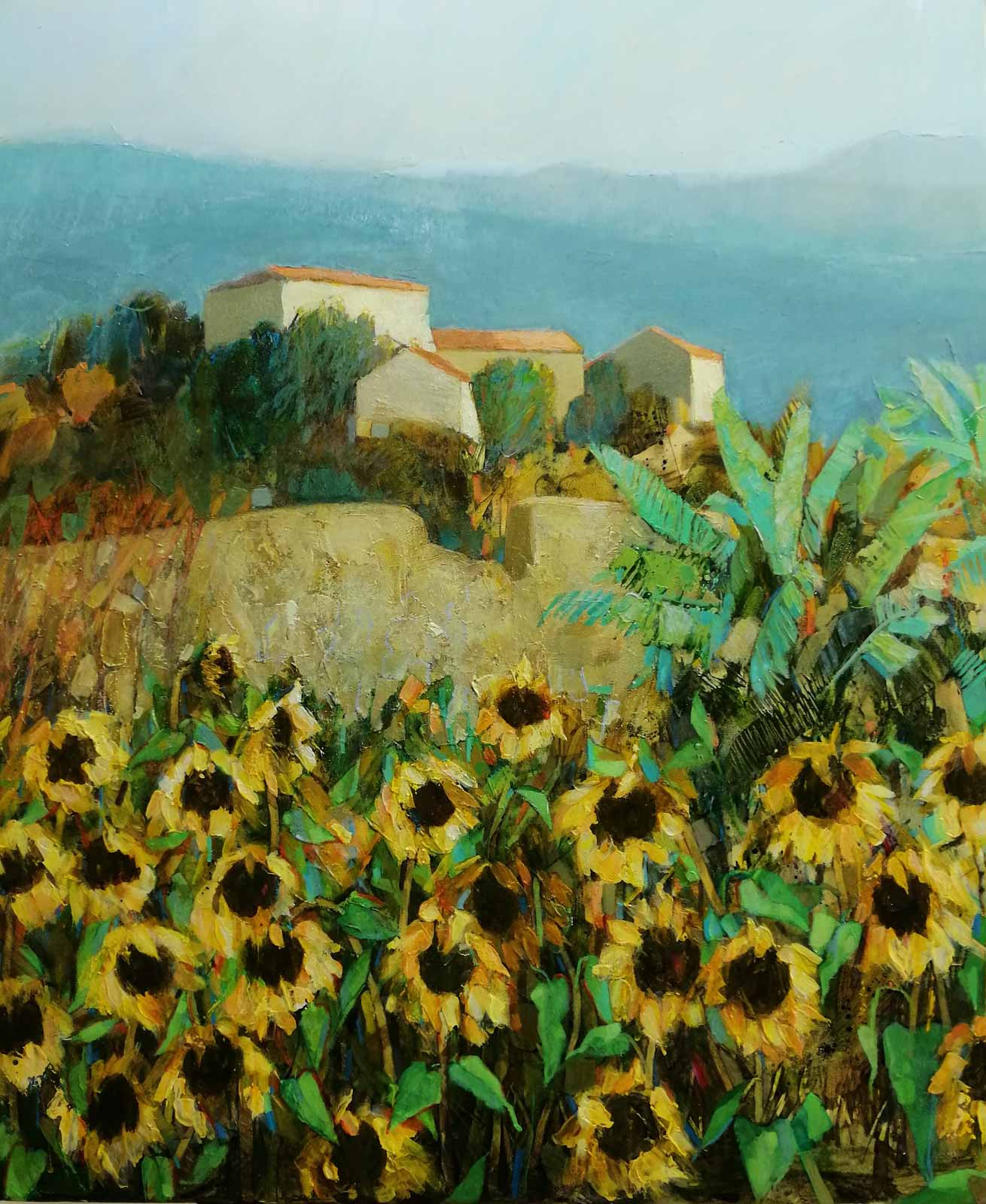 September Sunflowers Tuscany