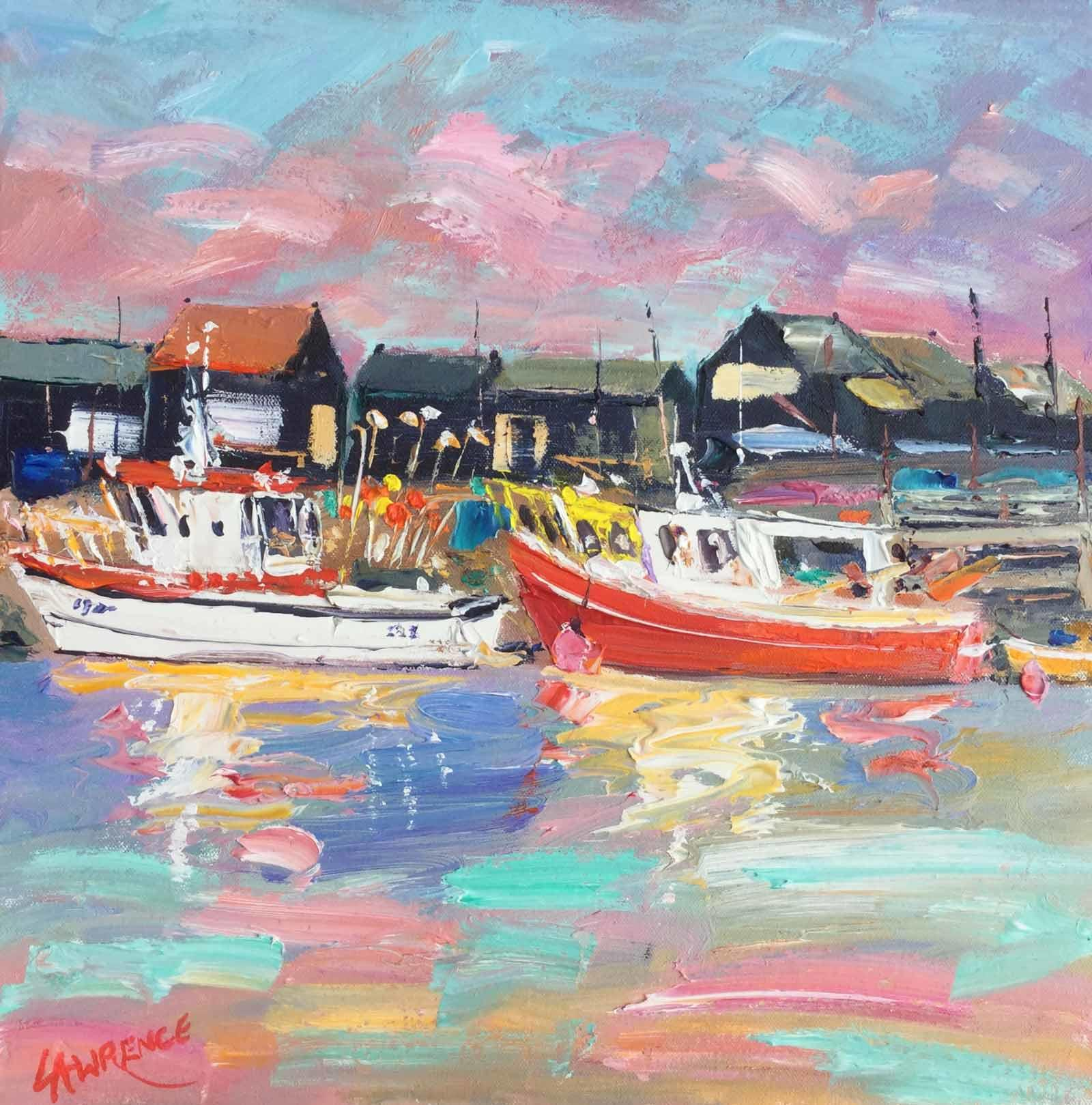 Fishing Boats and Net Sheds