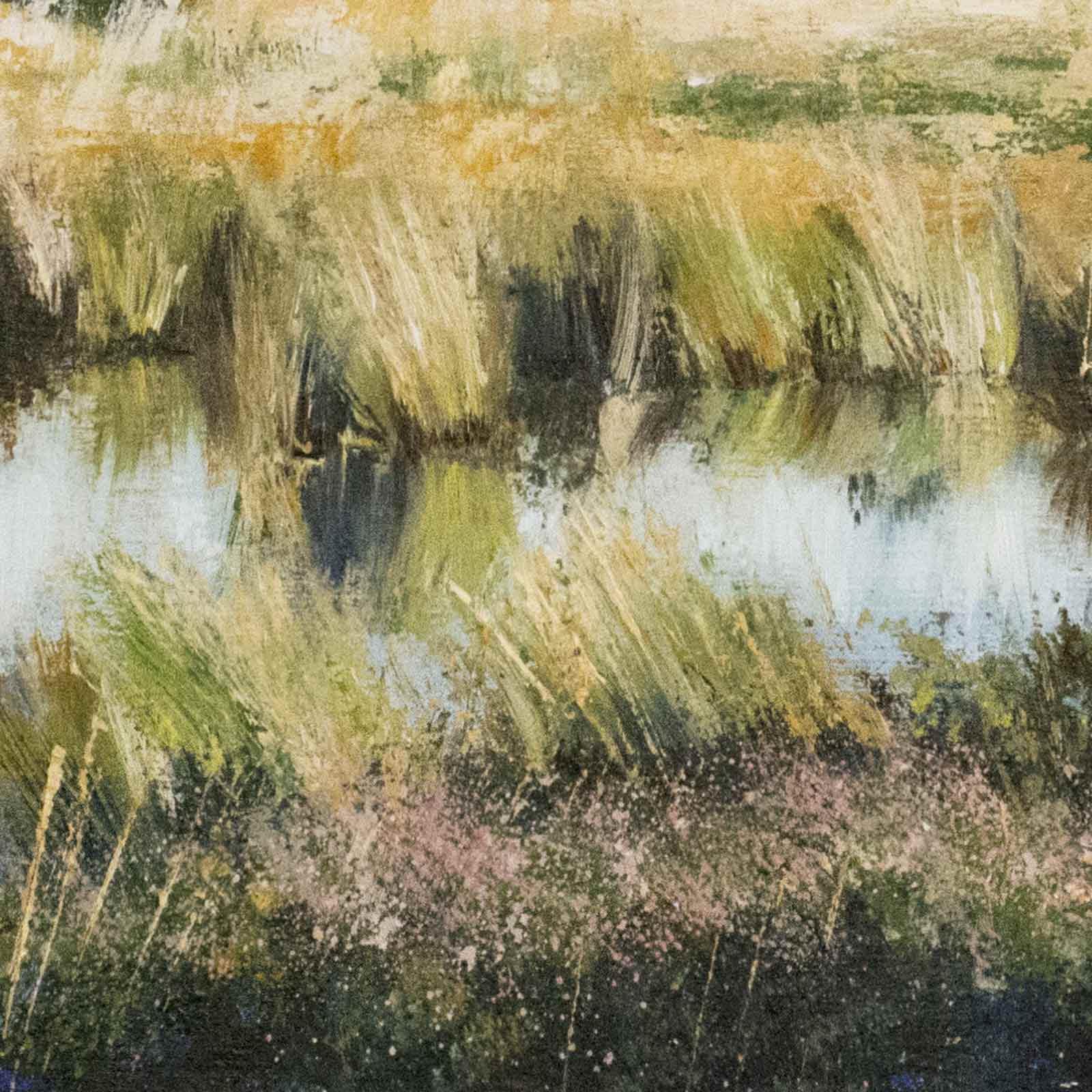 Golden Hour, Dragonfly Pond