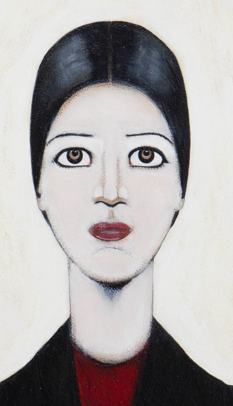 Portrait Of Ann After LS Lowry