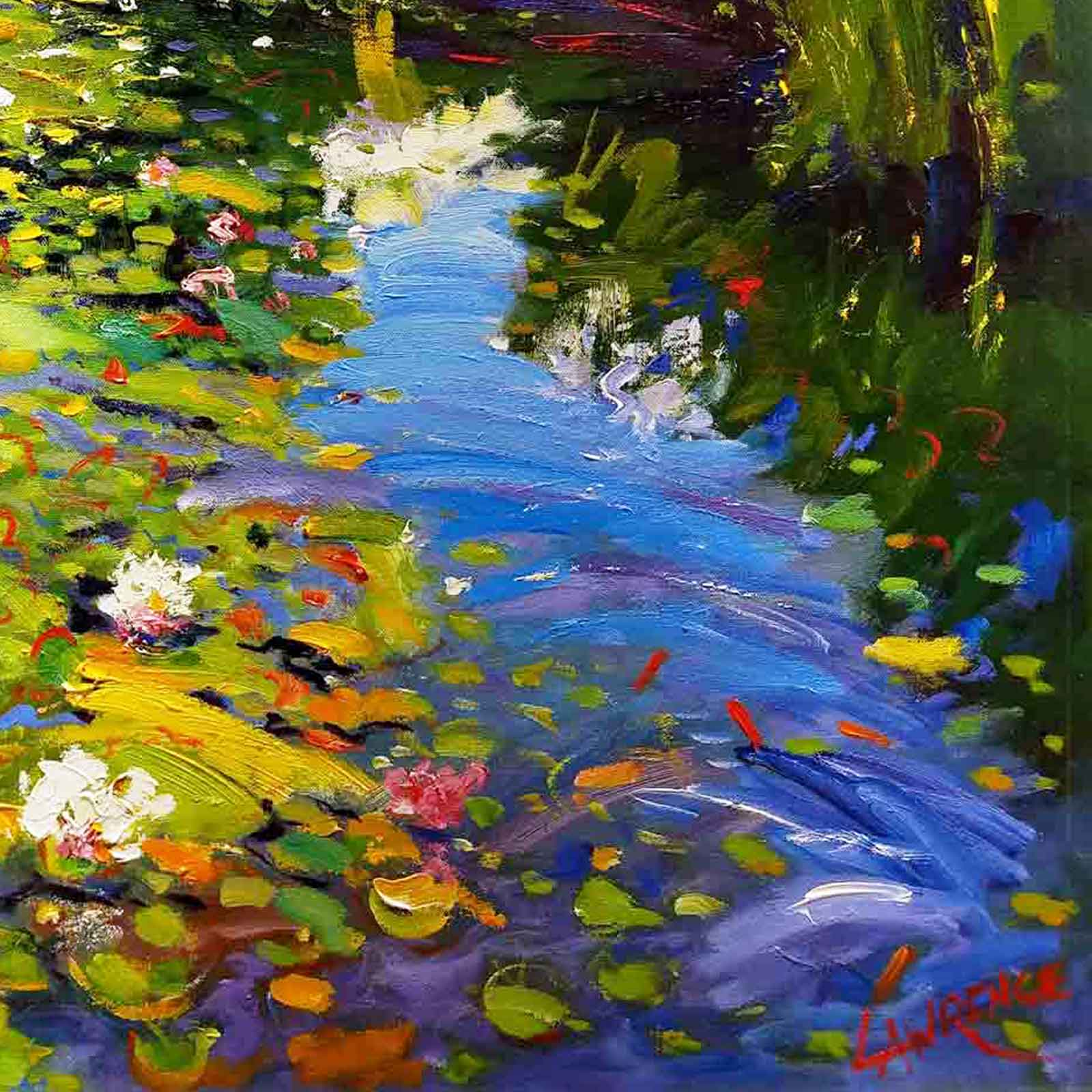 Waterlilies, Chiddingfold
