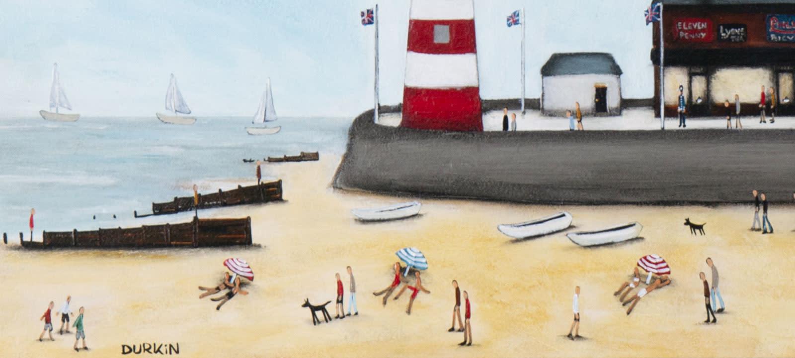 The Beach & The Lighthouse