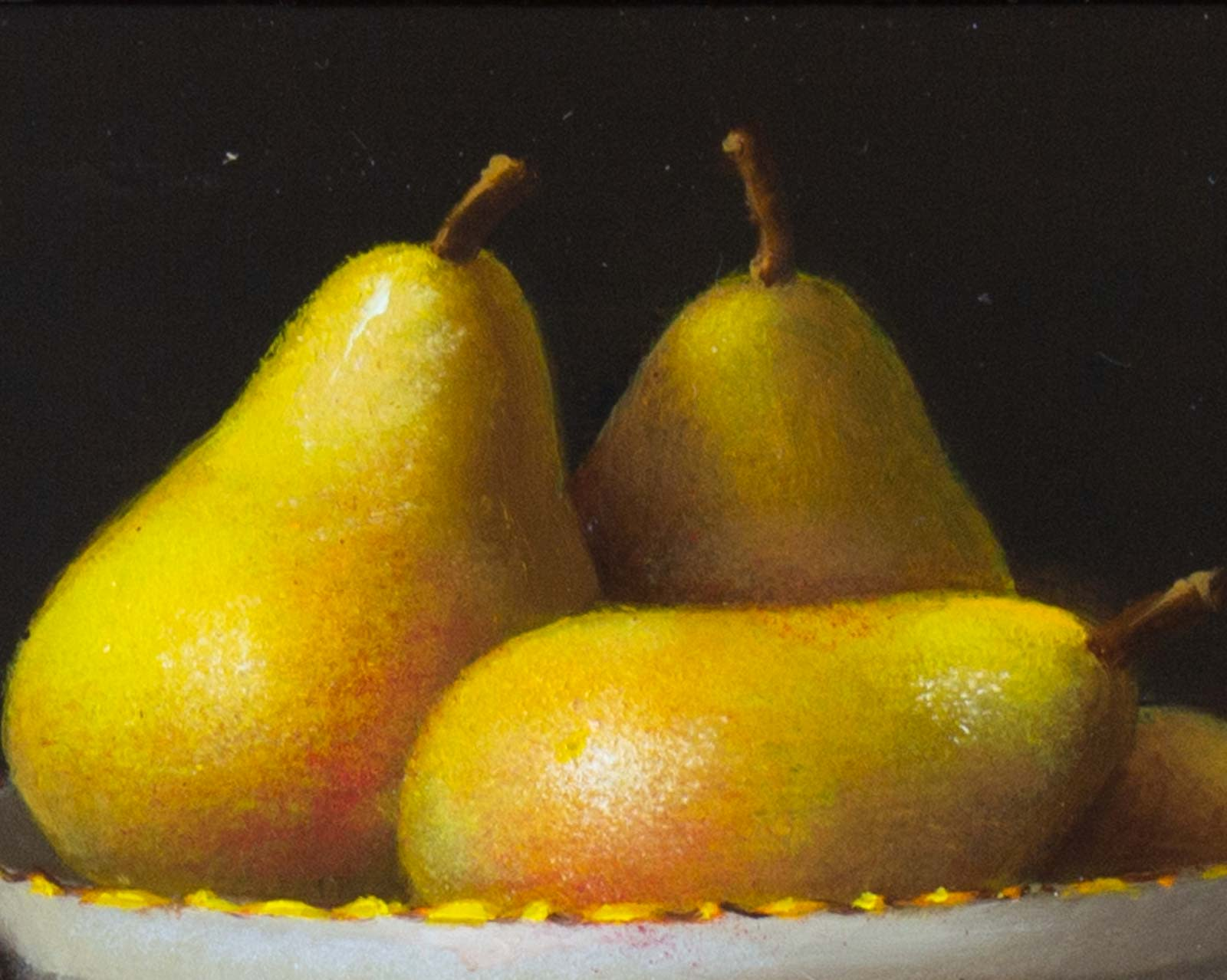 Pears In China Bowl