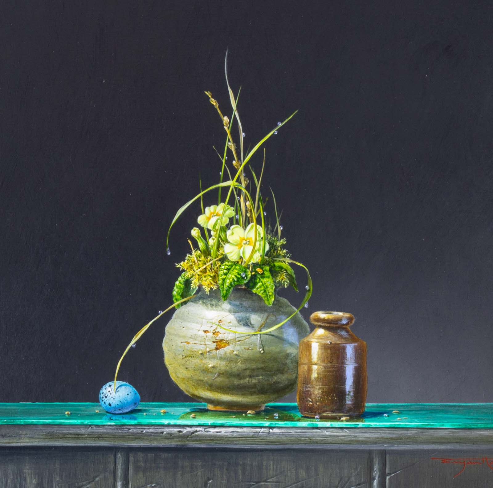 Primrose And Egg