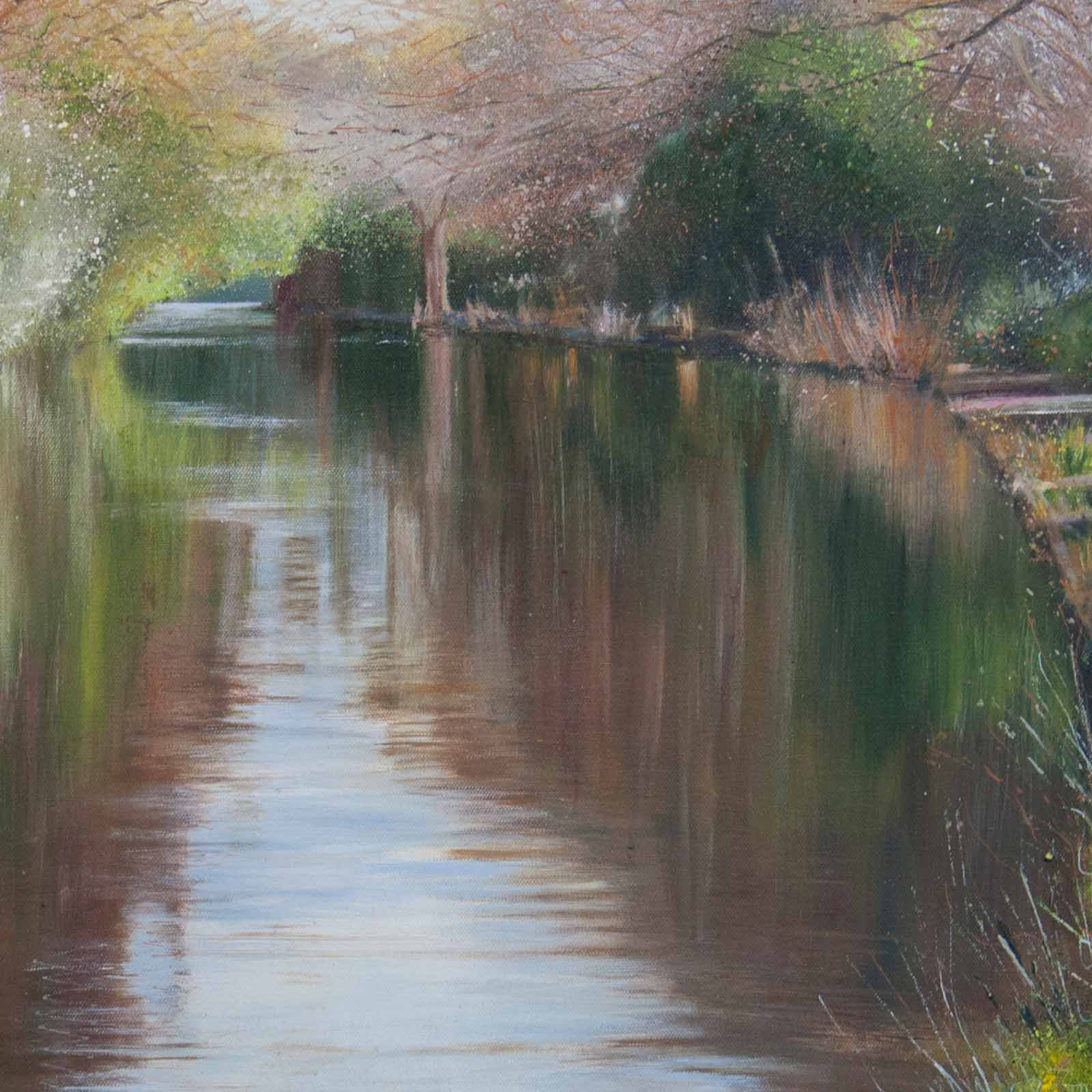 Spring Beside the Canal