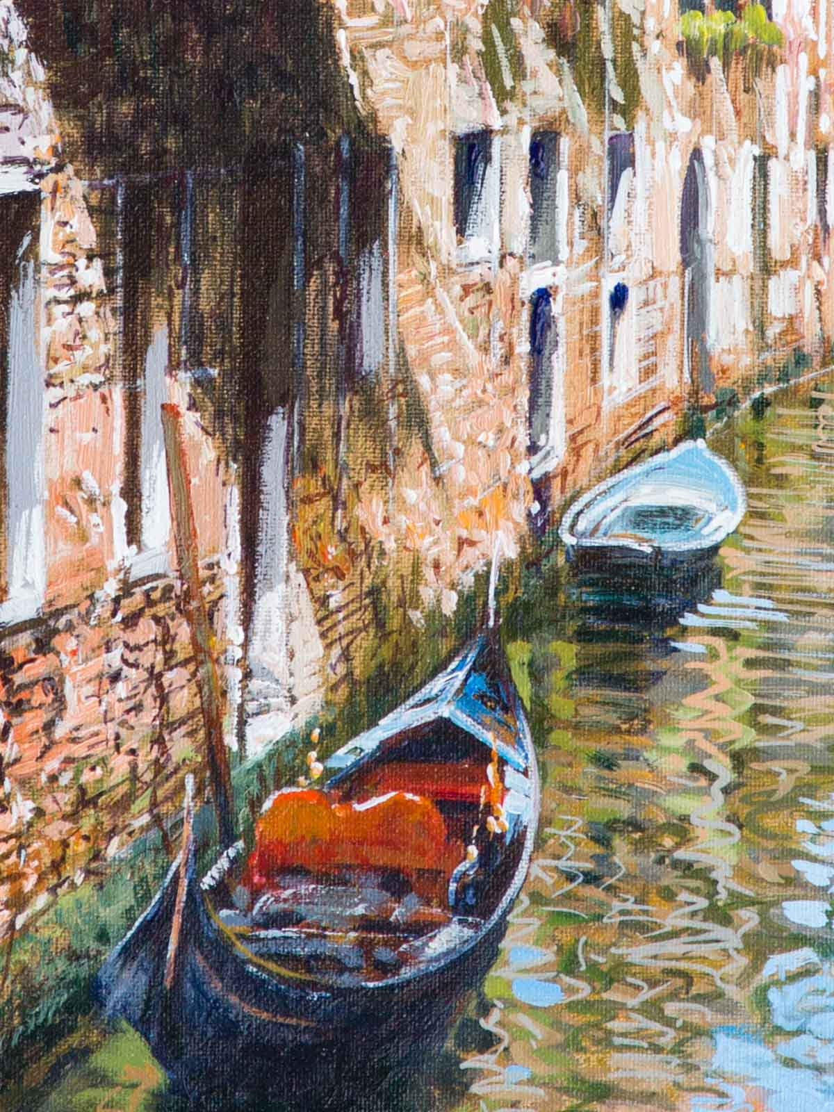 Gondolas, Venice II