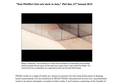 Vitruvian Figure, 2009. Installation view at Thomas Dane Gallery, London
