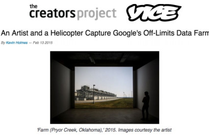 'Farm (Pryor Creek, Oklahoma),' 2015. Images courtesy the artist and Thomas Dane Gallery