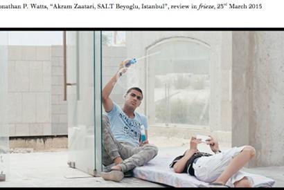 Beirut Exploded Views, 2014 film still