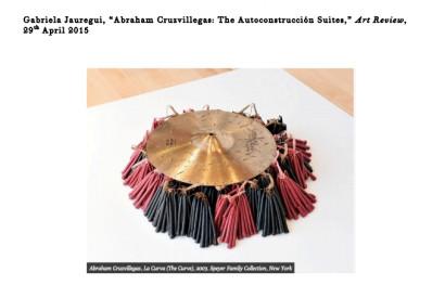 Abraham Cruzvillegas, La Curva (The Curve), 2003. Speyer Family Collection, New York