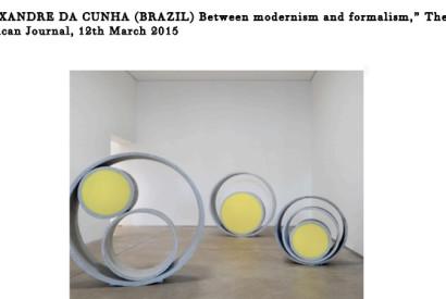 Alexandre Da Cunha. Alexandre Da Cunha Public Sculptures, 2009-2014. Concrete pipe and foam. Image: Courtesy of Luisa Strina Gallery