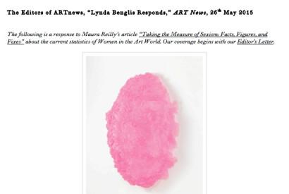 Lynda Benglis, Swinburne Egg I, 2009. ©LYNDA BENGLIS/LICENSED BY VAGA, NEW YORK, NY