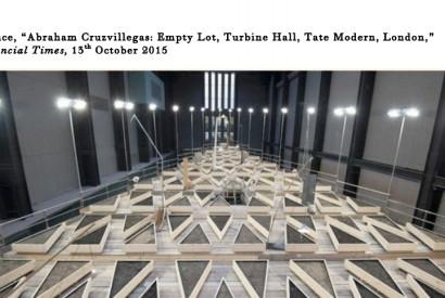 Abraham Cruzvillegas' 'Empty Lot' installation in Tate Modern's Turbine Hall. Photo: Lauren Hurley/PA