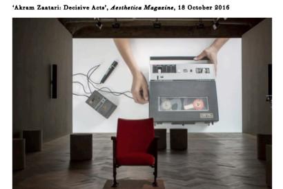 Credits - Installation view, Thomas Dane Gallery, London.