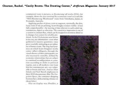 Cecily Brown, Untitled (After von Bayros), ca.1997-98