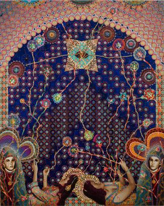 Asad Faulwell, Les Femmes D'Alger #72, 2016